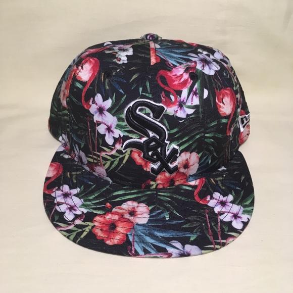 08ce061de65 Chicago White Sox Floral snapback hat